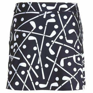 POLO Golf Ralph Lauren Printed Black Skirt Skorts